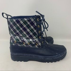 Sperry Top Sider waterproof rubber boots